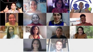 """Foto grupal del evento """"Jóvenes por Escazú"""""""