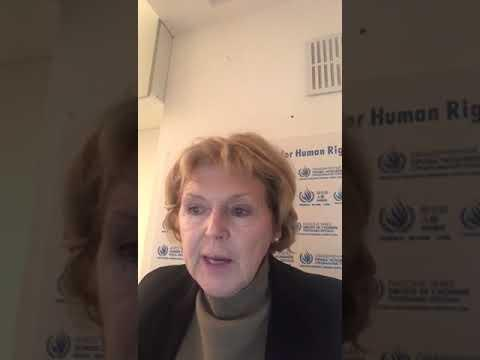 Embedded thumbnail for Mary Lawlor, United Nations Special Rapporteur on the situation of human rights defenders